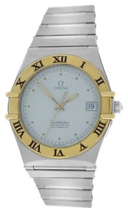 Omega Omega Constellation 18K Gold Steel Automatic 35MM Chronometer Watch