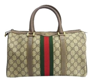 Gucci Boston Speedy Satchel Doctors Tote