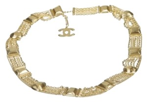 Chanel Chanel Gold Chain Link Belt