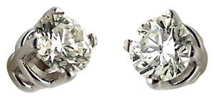 ABC Jewelry Diamond Stud Earrings Rounds Not Enhanced .19tcw G-Si2 14k White Gold Made USA