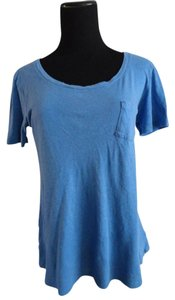 Forever 21 Pocket Top Blue