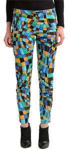 Versace Straight Pants Multi-Color