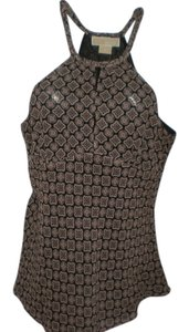 Michael by Michael Kors Top black geometric