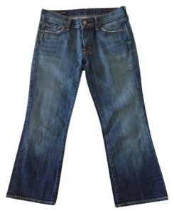 Citizens of Humanity Capri/Cropped Denim-Medium Wash