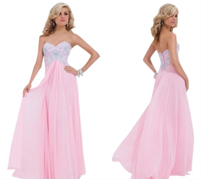 Tony Bowls Strapless Dress
