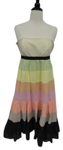 Plenty by Tracy Reese short dress Multi Color Spring Summer Rainbow Pastel on Tradesy