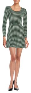 Michael Kors short dress Green/Black on Tradesy