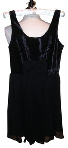 Free People short dress Black Tank Size 6 on Tradesy