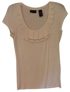 New York & Company Top Cream