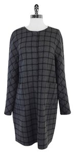 Max Mara Reversible Checkerboard Coat