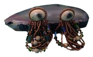 Other Stone Beaded Drop Earrings From Eighties
