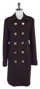 Tory Burch Dark Brown With Gold Jacket