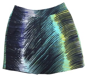 Ann Taylor LOFT Multi Color Flowy Skirt