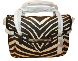 Coach Designerbag Satchel in Zebra