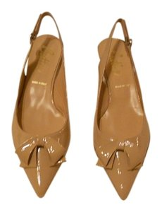 Butter Delight Lovely Neutral Color Versatile Slingback Made In Italy Nude Pumps