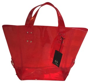 Alexander McQueen Tote in Cherry Red