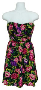 dELiA*s short dress Multi-color Delia's Floral Sweetheart on Tradesy