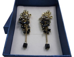 Flower Cluster Fashion Earrings with Free Shipping