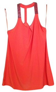 The Limited Orange Halter Top