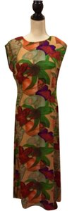 Multi-colors Maxi Dress by Halston