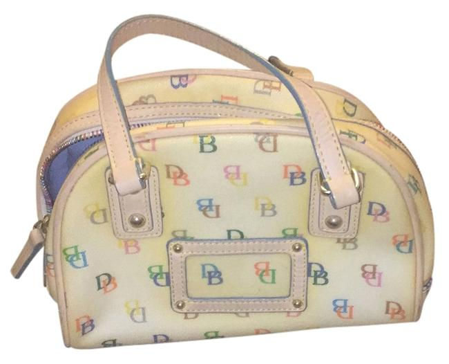 Item - White with Colorful Logos Baguette