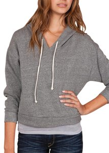 Alternative Apparel Organic Cotton Soft Athleisure Crop Sweatshirt