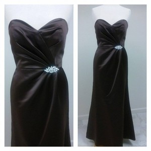 Jasmine Bridal Espresso L4011 Dress