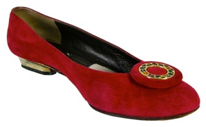 Bruno Magli Red Flats