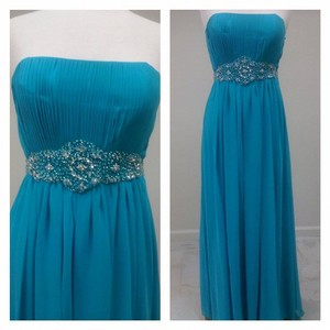 Turquoise K056 Dress