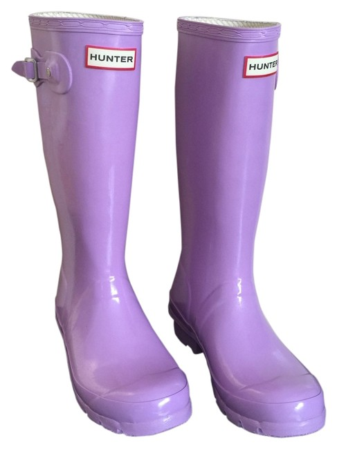Item - Lavender Boots/Booties Size US 5 Regular (M, B)