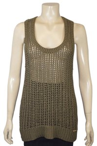 Michael Kors New With Tags Knitted Beach Wear Top BROWN