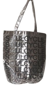 SoulCycle Tote in Silver