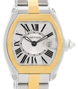 Cartier Cartier Roadster Ladies Steel and Yellow Gold Watch W62026Y4