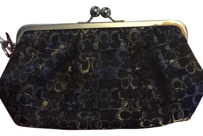Item - Black and Silver Clutch