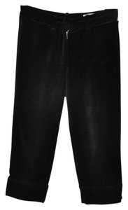 Saint Laurent Yves Balck Capris Black