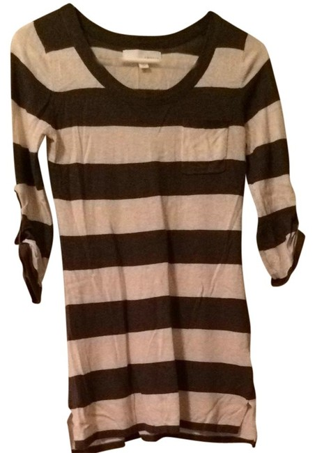 Preload https://item1.tradesy.com/images/kaisely-striped-cotton-soft-tunic-purple-and-cream-1266370-0-0.jpg?width=400&height=650