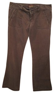 Hollister 5 Flap Pocket Chino Khaki/Chino Pants Brown