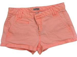 Express Mini/Short Shorts Fluorescent orange