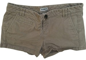 Express Mini/Short Shorts Dark khaki