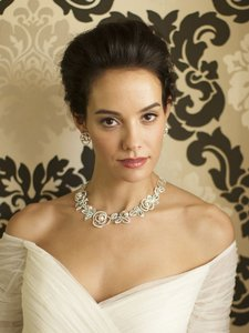 Couture Crystals & Pearls Statement Bridal Necklace