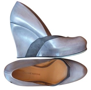 Costume National Grey Wedges