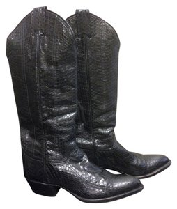 Larry Mahan Collection Black Boots