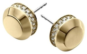 Michael Kors Gold Tone Astor Stud Earrings