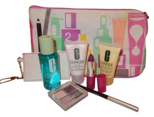 Clinique Clinique Brand New Cosmetic Bag and Beauty Bundle/Clutch