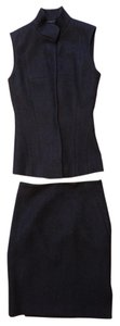 Narciso Rodriguez Narciso Rodriguez Wool Cashmere Vest Skirt Suit Set