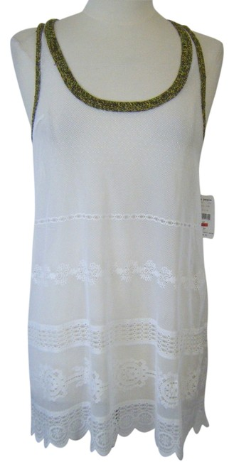Free Country SWIMSUIT BEACH COVER UP M NWT FREE COUNTRY LACE CROCHET $98