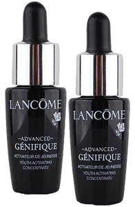 NEW Lancome Advanced Genifique Youth Activating Serum Set of TWO Mini Bottles with Droppers