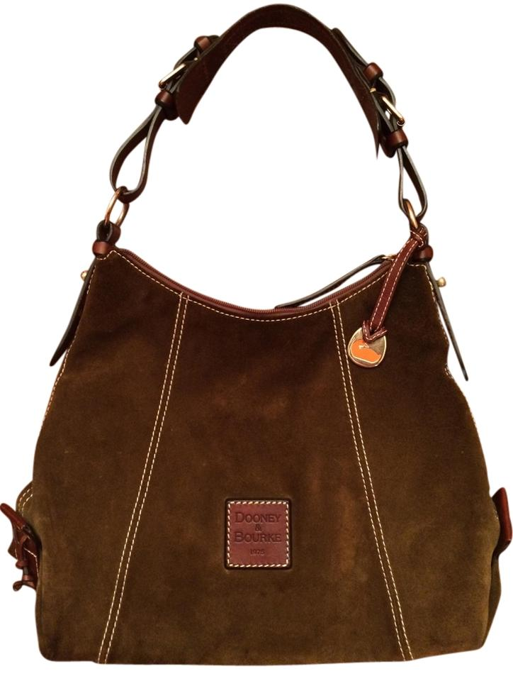 c9f8db0c4c12 Dooney   Bourke Olive Green Suede Leather Trim Hobo Bag - Tradesy