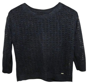 Gilly Hicks Mesh Crop Sweater