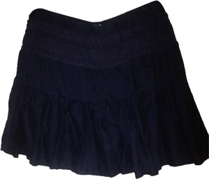 Forever 21 Crotchet Skirt Navy blue